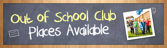 Out of School Club Places Available
