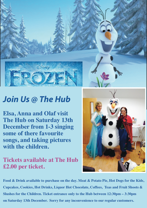 Frozen Party Poster