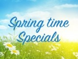 Introducing new Spring time specials at The Hub's Cappuccino Cafe