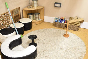 The Caterpillars play room