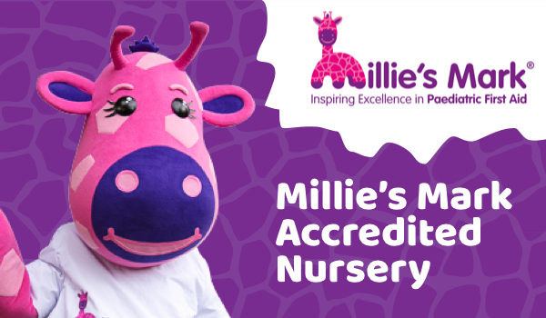 Buckshaw Village Nursery has been awarded with Millie's Mark!