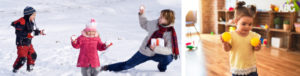 1. Play Indoor Snowball Games