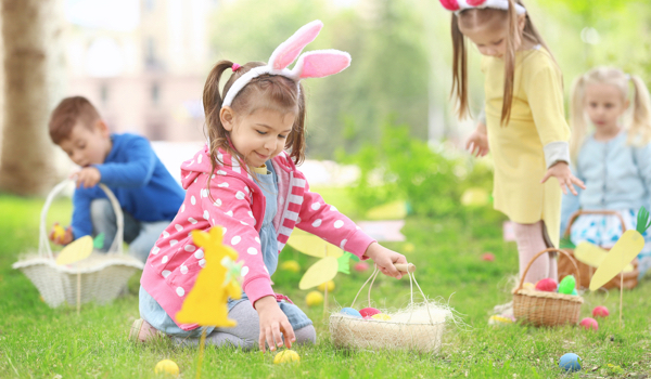 Plan an 'At Home' Easter Egg hunt to keep your children amused