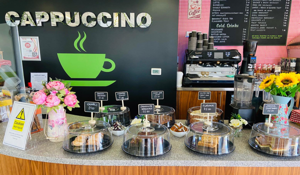 Cappuccino cafe is back and better than ever!