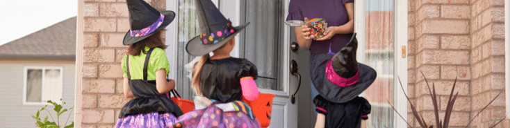 Socially Distanced Trick-Or-Treating